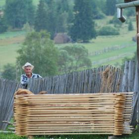A man poses for a photo in Brasov, Romania, where Projects Abroad operates